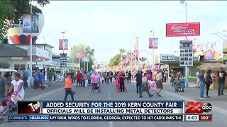 Added Security for Kern County Fair