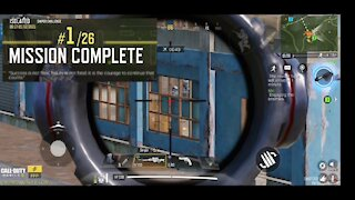 Call of Duty Mobile: Battle Royale Sniper only!