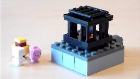 Lego Minecraft Mob Spawner Tutorial