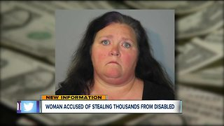 Woman charged for allegedly stealing funds from people with developmental disabilities