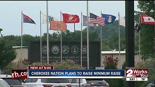 Cherokee Nation plans to raise minimum wage