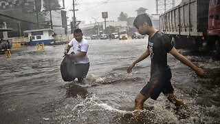 Typhoon Forces Mass Evacuations In The Philippines