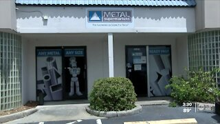 Tampa metal business providing opportunities for veterans and students