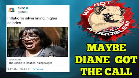 CNBC Tell Diane Abbott To Hold Their Beer