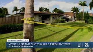 Martin County man fatally shoots wife after mistaking her for intruder