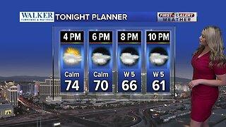 13 First Alert Las Vegas evening forecast | Mar. 5, 2020