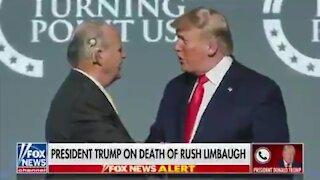Trump Reacts To Rush Limbaugh's Passing