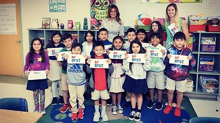 First Lady Melania Trump discusses bullying at Palm Beach County school