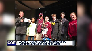 Metro Detroit student competing in Scripps National Spelling Bee