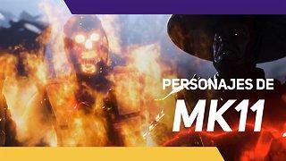 Mortal Kombat 11 desvela algunos de sus personajes
