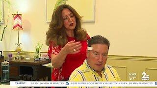 Men's Health Month: Hair stylist helps WMAR-2 News anchor Jamie Costello face skin cancer