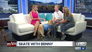 """""""Skate With Benny"""" fundraiser for The Animal Foundation"""