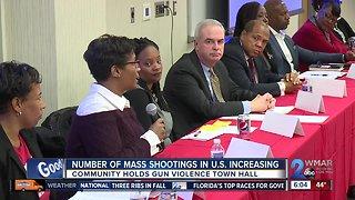 Town hall meeting to end gun violence