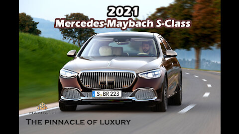 2021-2022 Mercedes MAYBACH S Class 680 - New Excellent Luxury Sedan First Look (Up-Close Details)!