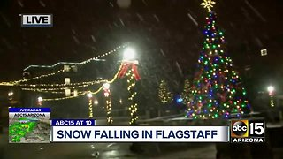 Winter storms make their return to Arizona