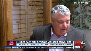 City of Bakersfield accused of violating Brown Act