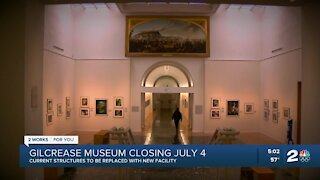 Gilcrease Museum closing July 4