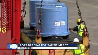 Tariffs impact Port of Milwaukee