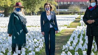 More Than 231,000 Flags Make Up COVID-19 Memorial Installation In D.C.