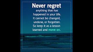 Never regret [GMG Originals]