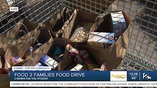 Food 2 Families kicks of 20th annual food drive