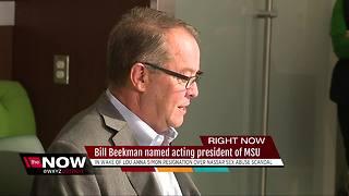 Bill Beekman named acting president of Michigan State University