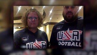U.S. Women's Football team stuck in Honduras