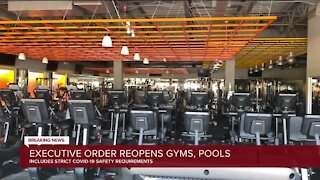 Whitmer signs order reopening gyms and pools; organized sports permitted with safety measures
