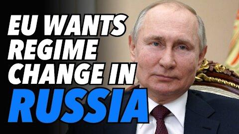 EU Parliament calls for regime change in Russia