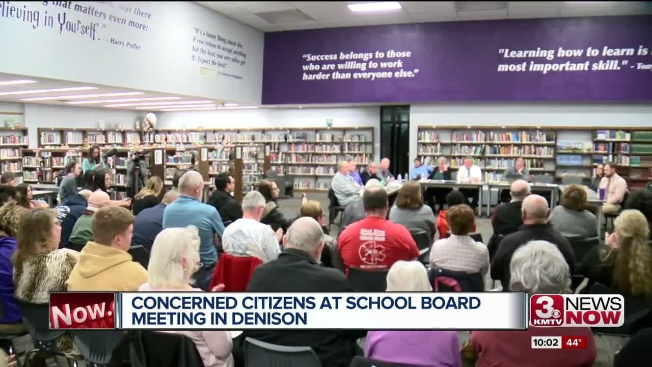 Denison School Board Meeting