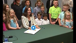 Governor Whitmer and legislators still talking COVID restrictions and state budget