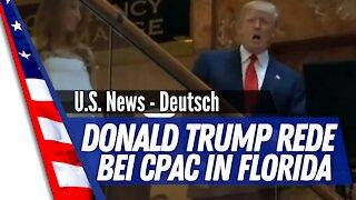 Donald Trump hält eine Rede bei der Conservative Political Action Conference CPAC