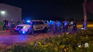 Powerful scenes: Two runs held for fallen Florida Highway Patrol Trooper Joseph Bullock