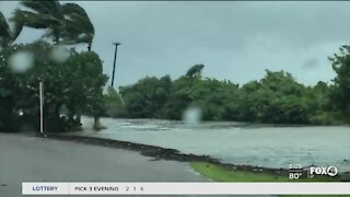 Rising sea levels cause concern with storm surge