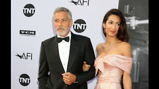 Amal Clooney: George Clooney is inspiring