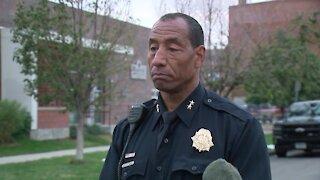 News conference: Denver police provide update after officer shoots suspect near West High School