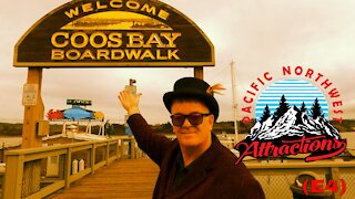 Coos Bay Oregon Boardwalk (S1 E4) Pacific Northwest Attractions