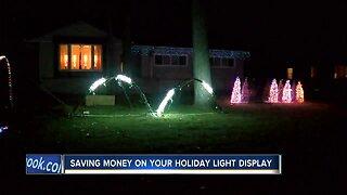 Saving money on your holiday light display