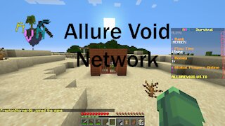 Playing on my friends Minecraft server!