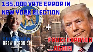 NYC Election News, Jim Jordan Exposes Dr. Fauci Again, & NSA Responds To Tucker Allegations | Ep 218