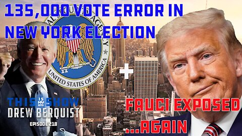 NYC Election News, Jim Jordan Exposes Dr. Fauci Again, & NSA Responds To Tucker Allegations   Ep 218