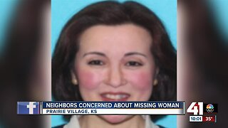 Neighbors concerned about missing Prairie Village woman