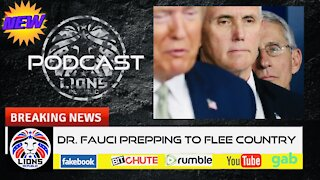 DR.FAUCI PLANNING TO FLEE COUNTRY?