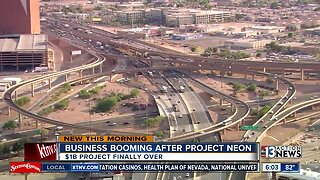 Business booming after project neon