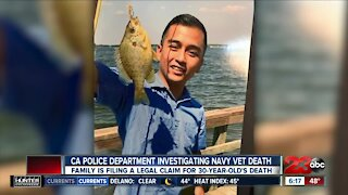 Family: Navy vet died after police knelt on his neck