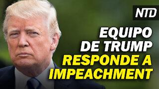 Abogados de Trump responden a impeachment; Biden firma órdenes sobre inmigración | NTD