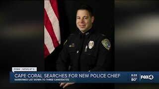 Cape Coral closer to determining new police chief