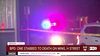 Deadly stabbing in South Bakersfield