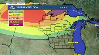 Storms possible this weekend, hot weather rolls in