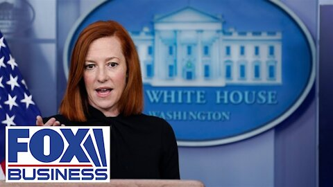 """BOOM - Plane Flys Over """"White House"""" During Psaki Press Briefing - Skip To 14:40 Minute Mark -"""